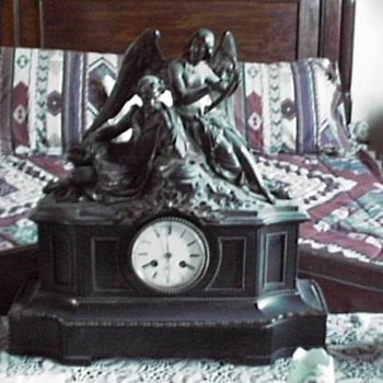 Onyx Mantle Clock