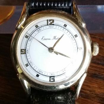 14kt Gold Eterna-matic Watch