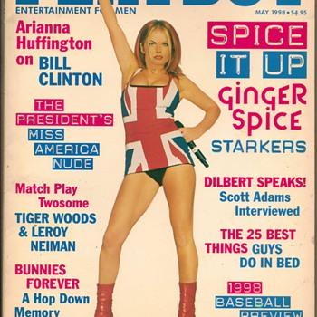 1998 - Playboy Magazine - Geri Halliwell - Paper