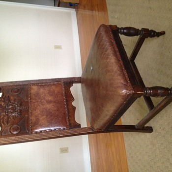Antique Dining Room Chair  - Furniture