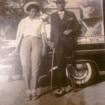 MY GREAT GREAT GRANDFATHER AND AUNT 2nd photo is me - Photographs