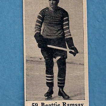 1926 Dominion Chocolates Hockey Card  - Hockey