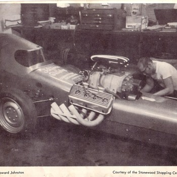 Howard Johnston Dragster Salt Flats - Photographs