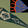 1967 Confront The Warmakers original Pennant with Provenance