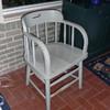 Federal Prison Industries Oak Office Chair