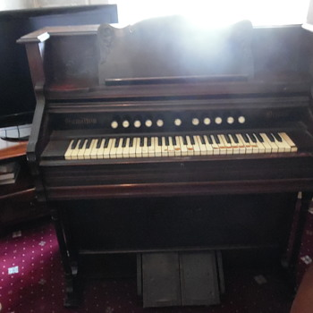 HAMILTON ORGAN WITH CERTIFICATE n0.50987 - Musical Instruments