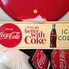 1963 Drink Coca-Cola Horizontal Sign
