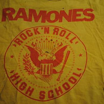 Ramones Rock N Roll High School T Shirt