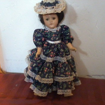 Doll, Very Old, Mystery!!