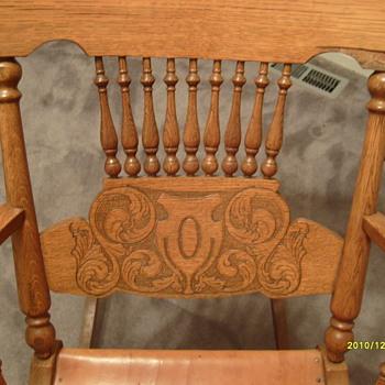 My $9 Oak Rockin Chair