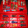 G.I. Joe Collectors case with 24 G.I. Joe figures and accesories