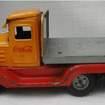 1950's Coca Cola  Goso tin toy  - Coca-Cola