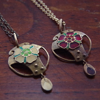 Murrle Bennett (?) Necklaces - Arts and Crafts