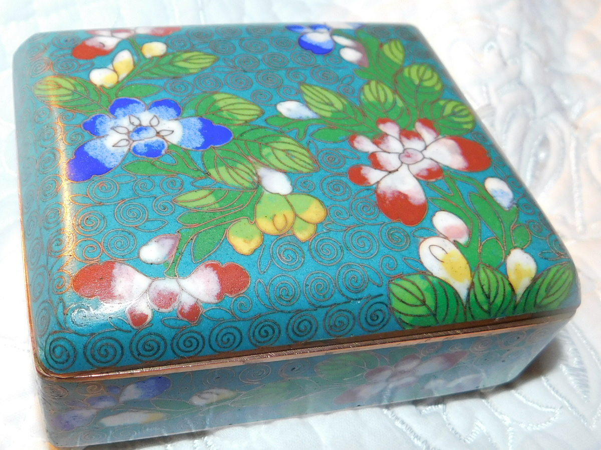 Antique/Vintage Chinese Intricate Gorgeous Cloisonne \