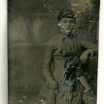 Cutted Tintype