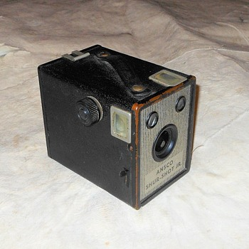 Ansco Shur-Shot Jr Camera Circa 1948 - Cameras