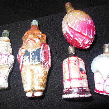 Antique Christmas Bulbs