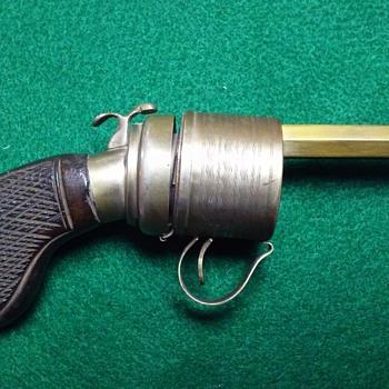 Revolver, pistol, gun inkwell - Office
