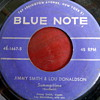 """1957 Jimmy Smith/Lou Donaldson """"How High the Moon"""" b/w """"Summertime"""" 45rpm"""