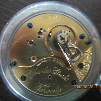 Antoque Charles Stark Pocket Watch - Pocket Watches