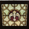 Stain glass dove