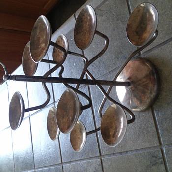 silver plated ten arm holder - Kitchen