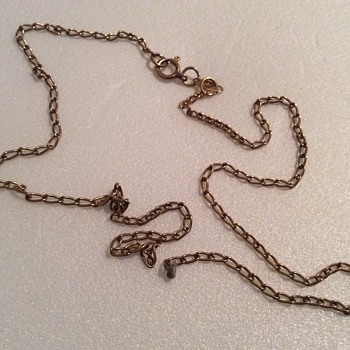 Vintage gold necklace - Fine Jewelry
