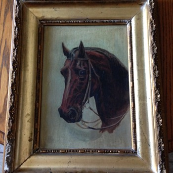 Horse Oil Painting - Animals