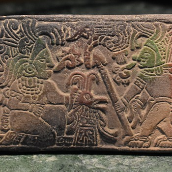 Small Tourist Plaque from the Mayan World? - Pottery