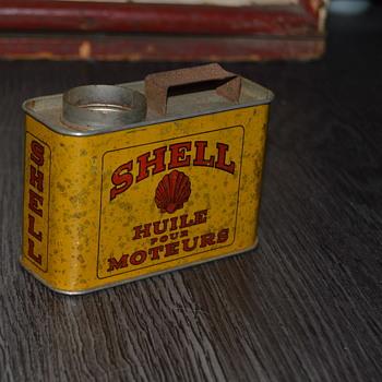 shell ashtray - Tobacciana