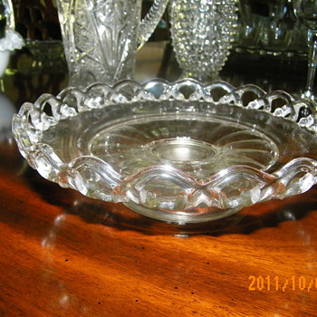 Footed Plate - Glassware