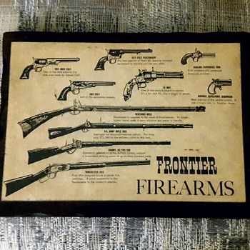 Plaque with All Guns from 1800' - Advertising