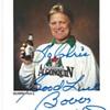 "Algonquin Beer""Bobby Hull""Signed card 1989"