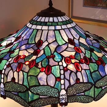 Tiffany Dragon Fly Floor lamp  - Lamps
