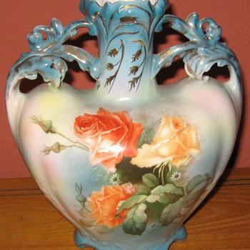 Royal Bayreuth Bavarian Vase - China and Dinnerware