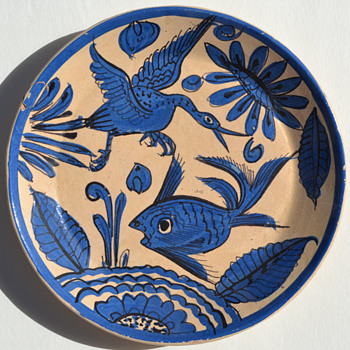 "Mexican ""Fantasia"" plates - Pottery"