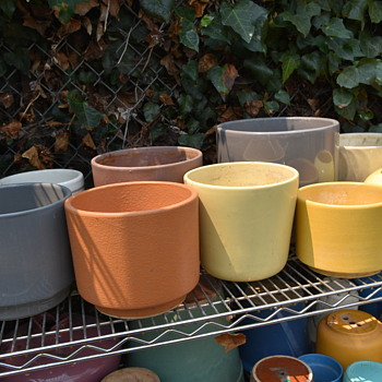 Mostly Gainey, but lots of Bauer and Garden City too - Pottery