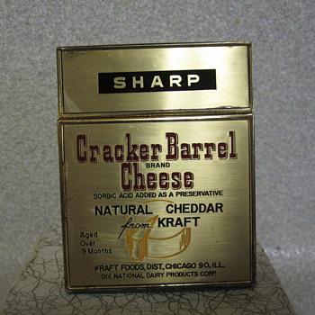 Kraft Foods Cracker Barrel Lighter - Tobacciana