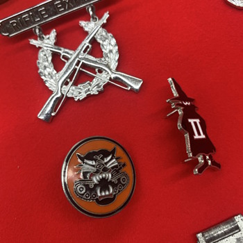 Meaning of these war pins - Military and Wartime