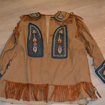 Jacket, pants and belt