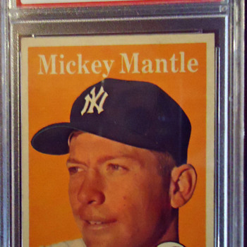 MICKEY MANTLE CARD - Baseball