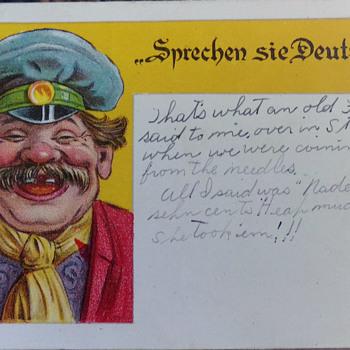 Sprechen Sie Deutsch - Postcards