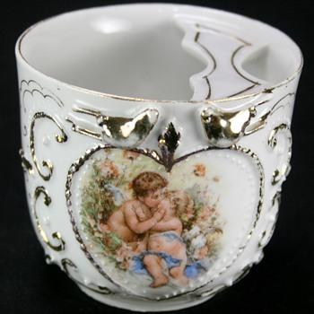 Victorian Moustache Cup - Victorian Era