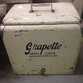 Grapette Progress A1 Cooler