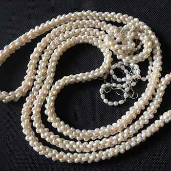 Vintage or antique pearl necklace  - Fine Jewelry