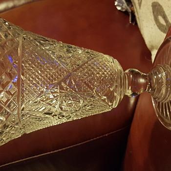 Stunning Cut glass vase - Glassware