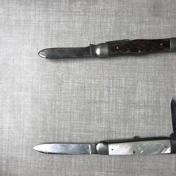 Old pocket knives - Tools and Hardware