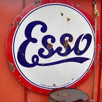 ESSO/Standard sign