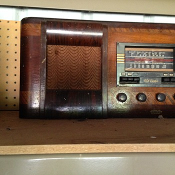 RCA radio given to us over 25 years ago.