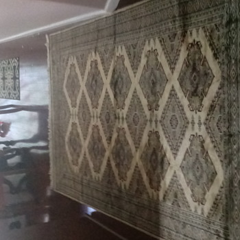 Persian oriental Rug hand made signed - Rugs and Textiles